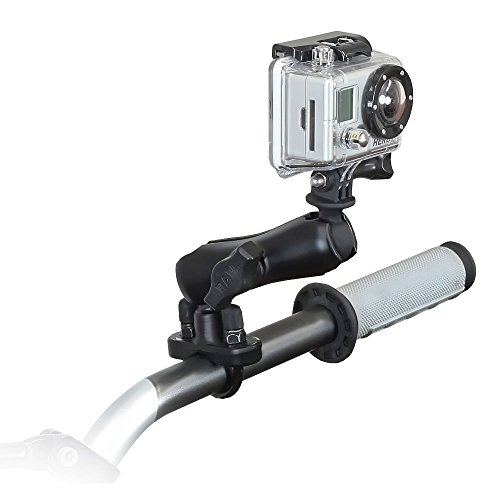 RAM MOUNT GOPRO HERO ADAPTER HANDLEBAR RAIL MOUNT