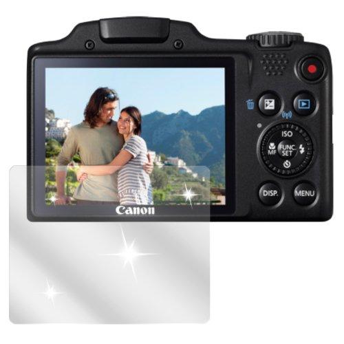 dipos I 6X Schutzfolie klar passend für Canon Powershot SX 510 Folie Displayschutzfolie