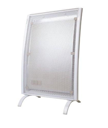 Badheizung - hochwertige Mica-thermische Badezimmer Wand-Heizung & Standheizung - schonende Kombinations Wärme aus Konvektions- und Infrarotwärme - Elektro E-Heiz-Strahler mit Spritwasserschutz, Antifrostfunktion und Überhitzungsschutz - elektrische Heizung mit 1500 Watt! - NEU & OVP (Infrarot Heizung Strahler)
