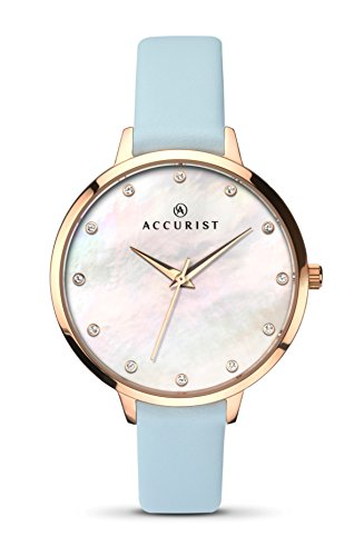 Accurist Ladies Blue London Watch 8155
