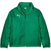 Puma Liga Training Rain Jacket Core Jr Chaqueta, Niños, Verde (Pepper Green White), 116
