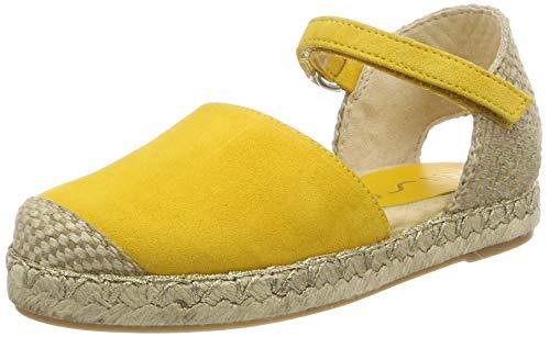 Unisa Mädchen YIXO_19_KS Espadrilles Gelb Yellow, 37 EU