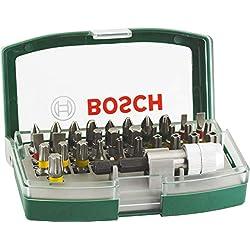 vasos Set 26 unidades atornillar incluye puntas carraca BOSCH