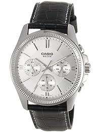 CASIO MTP-1375L-7 - Reloj con movimiento cuarzo, para hombre, color gris y negro