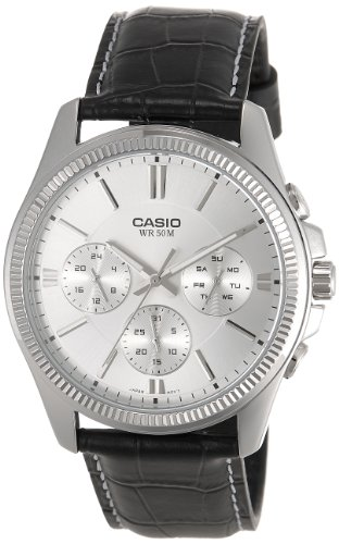 Casio Enticer White Dial Men's Watch - MTP-1375L-7AVDF (A839)
