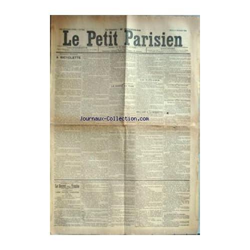 PETIT PARISIEN (LE) [No 6306] du 01/02/1894 - A BICYCLETTE LA SANTE DUT TSAR LE PANAMA VAILLANT A LA ROQUETTE DOUBLE SUICIDE INCENDIE D'UN CHATEAU LE SECRET D'UNE TOMBE