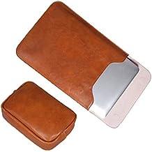 Multifuncional Bolsa De Ordenador PU Negocios Cuaderno Hebilla Magnetica Resistente Al Agua Y Al Polvo Opcional