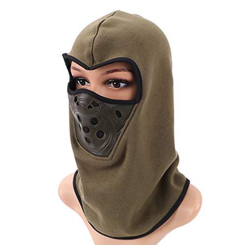 nstuch Gesichtsmaske, Reithelm Sportkopfmaske für Radfahren Wandern Klettern Bergsteigen ()