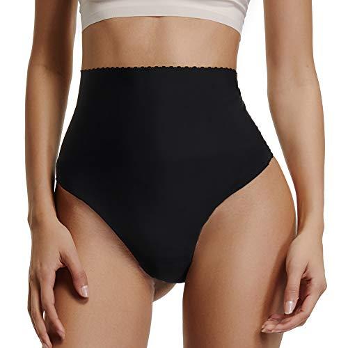 Joyshaper Mieder String Slip Hohe Taille Tanga Thong Panty Nahtlose Unterwäsche Unsichtbar unter Verschiedene Hosen oder Röcke -