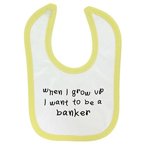 when-i-grow-up-banker-design-baby-bib-yellow-contrast-trim-and-black-print