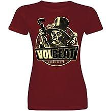 Volbeat Baron Samedi Camiseta Mujer Burdeos