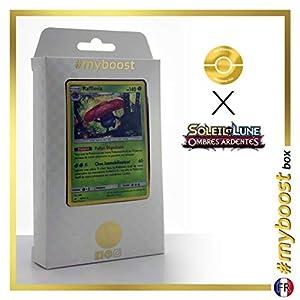 Rafflesia (Vileplume) 6/147 Holo - #myboost X Soleil & Lune 3 Ombres Ardentes - Box de 10 Cartas Pokémon Francés