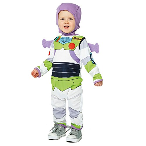 Kostüm Green Ranger Film (Disney Buzz Lightyear Infants Fancy Dress Toy Story Baby Costume (Age 12-18)