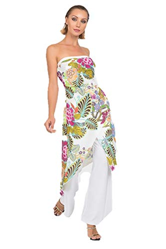 Joseph Ribkoff Vanilla & Multicolor Dress Style - 192624 Spring Summer 2019