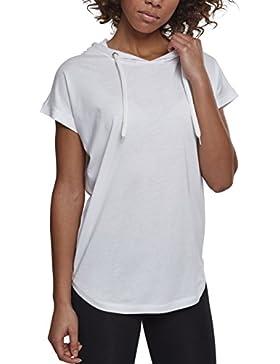 Urban Classic Ladies Sleeveless Jersey Hoody, Camiseta Para Mujer