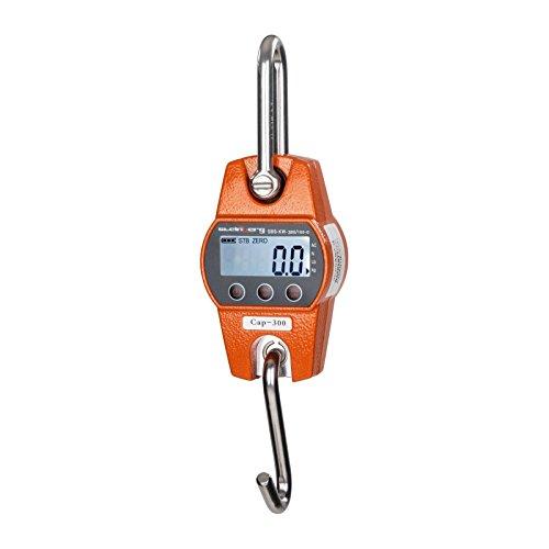Dinamometro digital - 300 kg / 100 g-naranja La balanza SBS-KW-300/100-O de Steinberg Systems le ofrece una capacidad máxima de 300 Kg. con una precisión de 100 g. Esta balanza dispone de una serie de prácticas funciones como: Tara, Mantener (Hold), ...