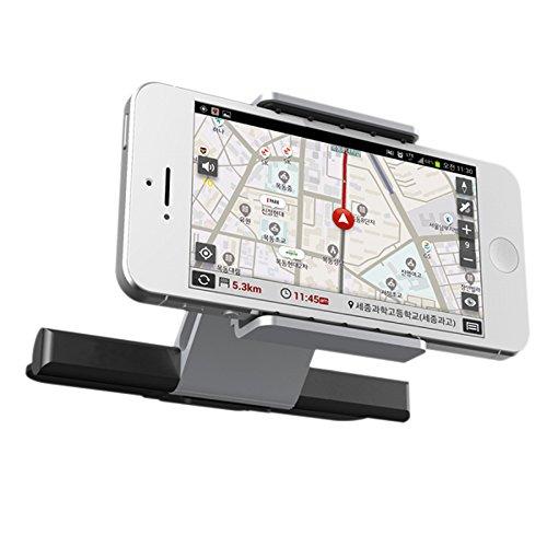 Auto-vent-mount-cd (Universal Smartphone CD-Schlitz KFZ Handy Halterung Air Vent Mount Cradle für iPhone Samsung für alle 8,9-14 cm Telefon)