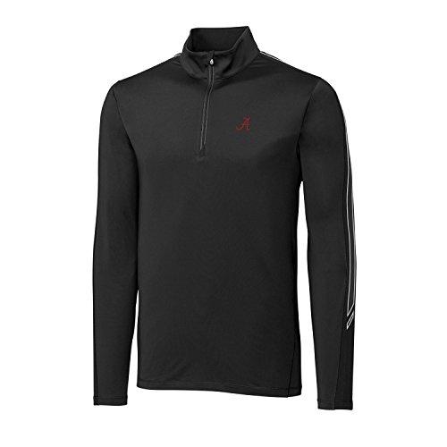 Cutter & Buck Pennant Sport Half Zip, Herren, CB DrytecTM Pennant Sport Half Zip, weiß, X-Large -