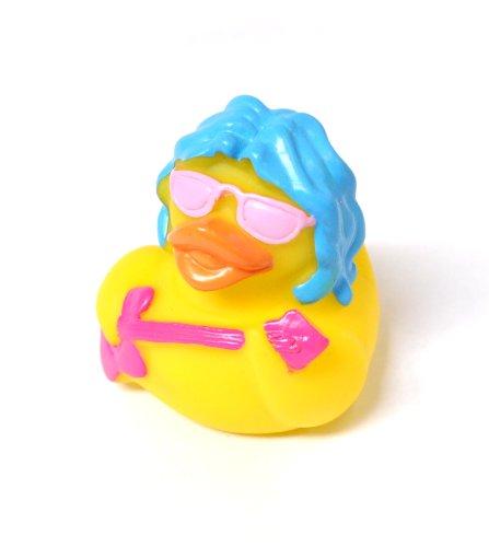10 x Ente Rockstar Badeente Spielzeug (Rock Star Duck x 10)