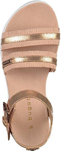 Bugatti Ladies 411471806459 Sandali Con Il Cinturino Multicolore (rosa / Metallizzato)