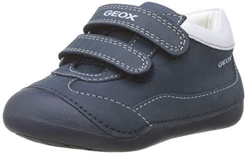 Geox B Tutim a, Zapatillas Bebés, Azul Navy/White