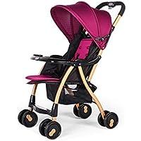 Baby-Kinderwagen Leicht Klappwagen Kann Liegenden Trolley Sitzen