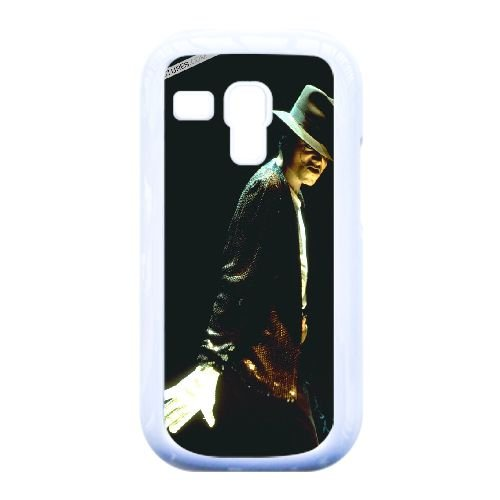 Samsung Galaxy S3 Mini i8190 Cell Phone Case White Famous Singers Michael Jackson Custom Case Cover QW8I548563 (Mk Galaxy S3 Case)