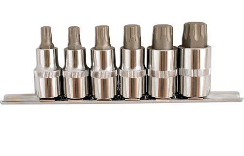 Preisvergleich Produktbild Laser 5214 Torx Plus Bit-Satz, 6-teilig, 3 cm Durchmesser