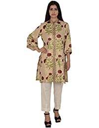 Rina Dhaka Women's Silk Straight Salwar Set