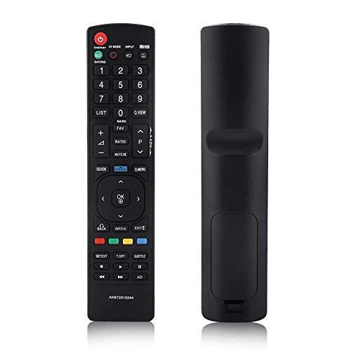 Zerone Universal-Fernbedienung AKB72915244Fernbedienung für LG, Smart TV Ersatz für LG 32LV253022LK33026LK33032LK330LCD LED TV