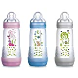 Biberon Mam First Bottle 4m+ 320 ml Nature Celeste
