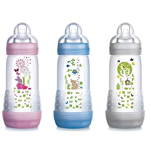 MAM FIRST BOTTLE 320ML TETT 3, Colori assortiti,1 pezzo