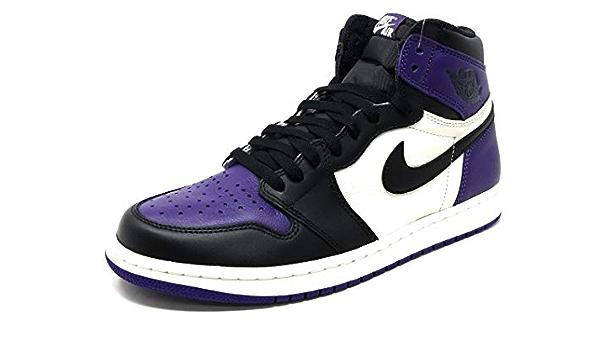 AIR Jordan 1 Retro 'Court Purple' - 555088-501 - Size 45-EU ...