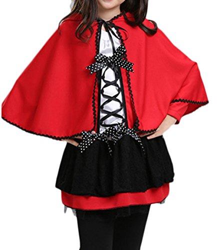Ideen Cosplay Quinn Harley (Scothen Mädchen Kinder Halloween Kostüm 2 teilig Set Karneval Kostüm Fasching schönes Cosplay Kostüm Zubehör Fairy Halloween Cosplay Partei Abendkleid Kinder Fledermaus Flügel)