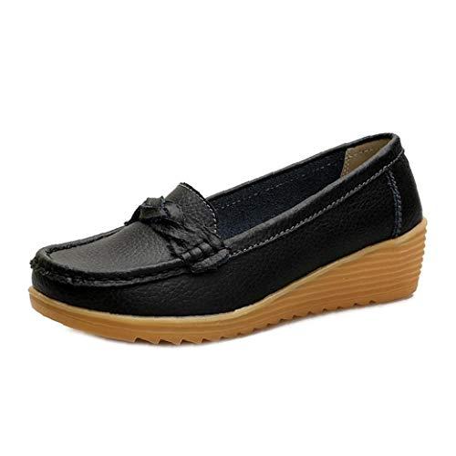 Zapatos De Las Mujeres Ocasional Que Recorre Resbalón En Mocasines De...