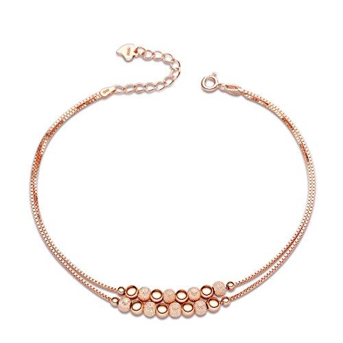 Sasavie-Armbnder-Perlen-Sterling-Silber-Rosegold-Verstellbar-Geschenke-fr-Damen