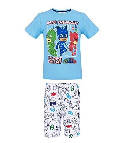 PJ Masks Chicos Pijama Mangas Cortas - Azul