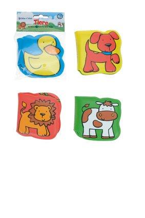 Badebücher Tiere - 4er Set