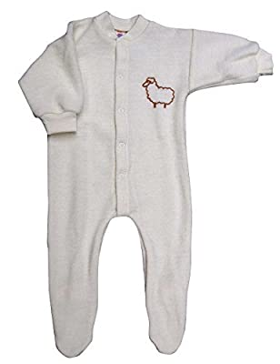 Engel Axil - Frühchen pijama 100% lana de merino (kbt) ángel natural