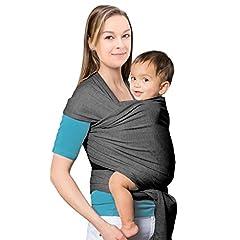 Idea Regalo - Mture Fascia Porta Bebè, Bebè Baby Sling Wrap, portabebè, Marsupio Neonato Porta Bambino, Imbracature Soffici Per Bambini
