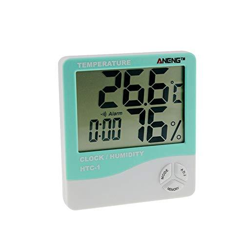 Panamami HTC-1 LCD Interior Electrónico Digital Medidor de Humedad y Temperatura Termómetro de habitación...
