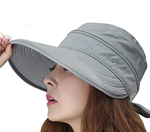 Women Elegant Wide Brim Visor Baseball Cap Anti-UV Sun Protection Sun Hat Cap Lightweight Breathable Outdoor Camping Beach Golf Tennis Traveler Hat
