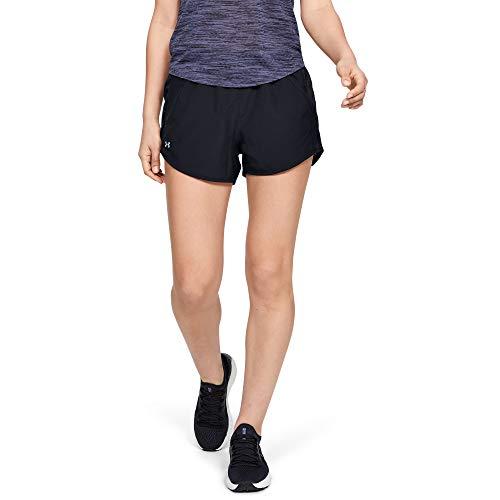 Under Armour Damen Shorts UA Fly-By, ultraleichte und atmungsaktive Sporthose, schnelltrocknende kurze Hose für Frauen mit loser Passform - Under Armour Sport Kurze
