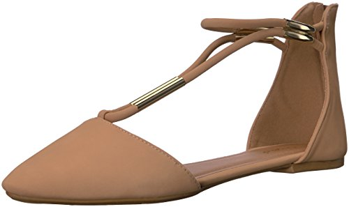 Qupid Women's Pika-46 Pointed Toe Flat