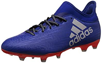 adidas Men's X 16.3 Fg Croyal, Silvmt and Solred Football Boots - 10 UK/India (44.7 EU)