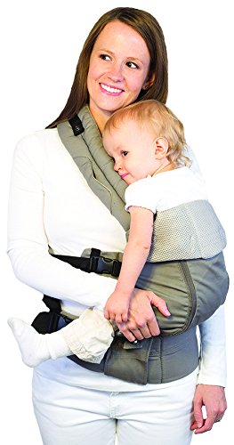 LÍLLÉbaby  Complete All Seasons 6-in-1 Baby Carrier, Stone Lillebaby With a temperature regulating breathable panel that unzips to encourage airflow in warm conditions and 6 carrying positions - Foetal, infant inward, outward, toddler inward, hip, back - The only carrier you'll ever need! Suitable from 3.2- 20kg (birth to approx. 4 years old), providing extended comfortable use for parent and child with no additional infant support required for new-borns - the ergonomic adjustable seat is acknowledged as 'hip-healthy' by the International Hip Dysplasia Institute Unique spacious head support with elasticated straps - soothes infants with gentle lulling motion and provides excellent support as children grow 1