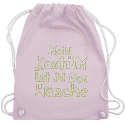Der Kostüm Komiker - Karneval & Fasching - Mein Kostüm ist in der Wäsche - Unisize - Pastell Rosa - WM110 - Turnbeutel & Gym Bag