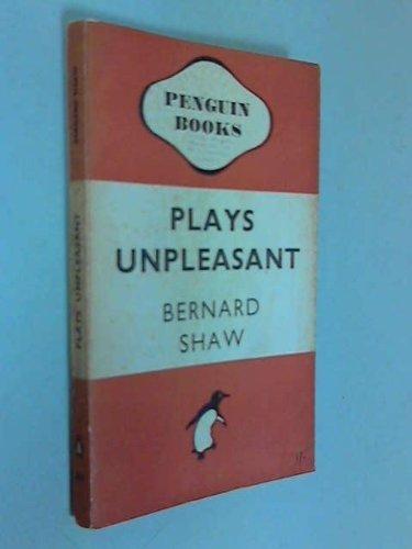 Plays Unpleasant: Widowers' Houses; The Philanderer, and, Mrs Warren's Profession by Shaw, George Bernard (December 10, 1970) Mass Market Paperback