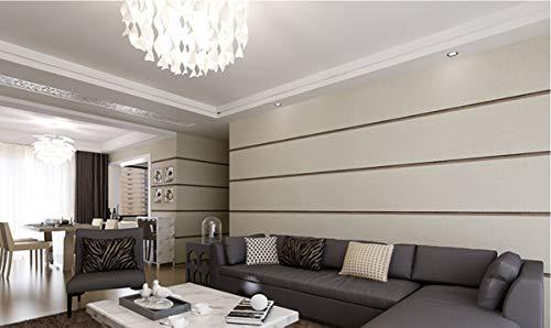 Meaosyy Stereoskopische 3D Wallpaper Schlafzimmer Wohnzimmer Hintergrund Wand Beflockte Moderne Tapetenrollen Horizontale Streifen Tapeten - Horizontale Textur Wallpaper