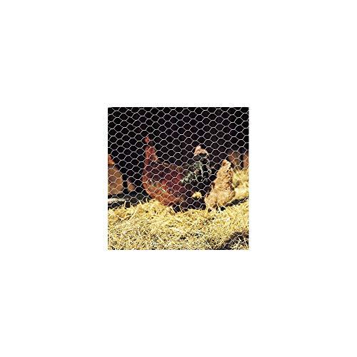 Gamme Agrifournitures.fr Grillage Triple Torsion 50 cm, Mailles hexagonales - Rouleau de 50m
